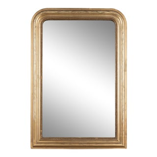 French Louis Philippe Style Gilded Mirror For Sale