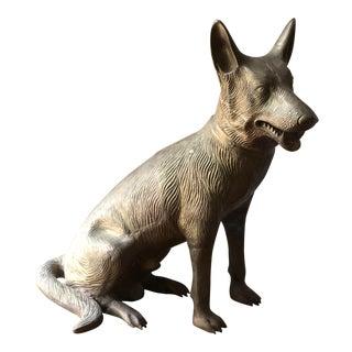 """Bob"" the Mid-Century Cast Iron Canine"