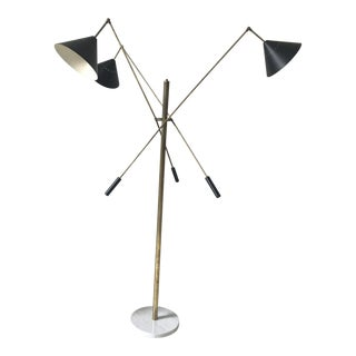 Italian Floor Lamp in the Style of 1960 Angelo Lelli (Arredoluce) For Sale