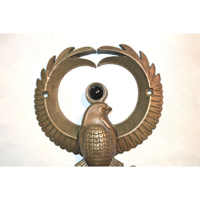 Egyptian Falcon God Horus Door Knocker - Image 10 of 10