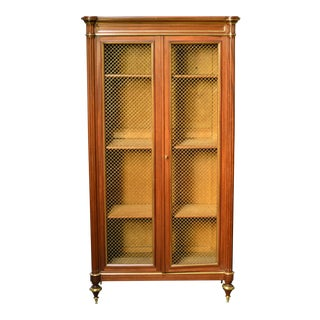 French Wire Door Bookcase