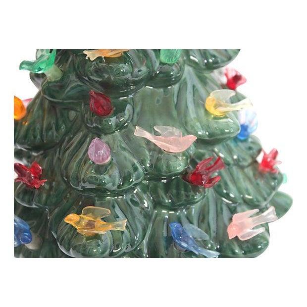 Vintage Light-Up Ceramic Christmas Tree - Image 3 of 4