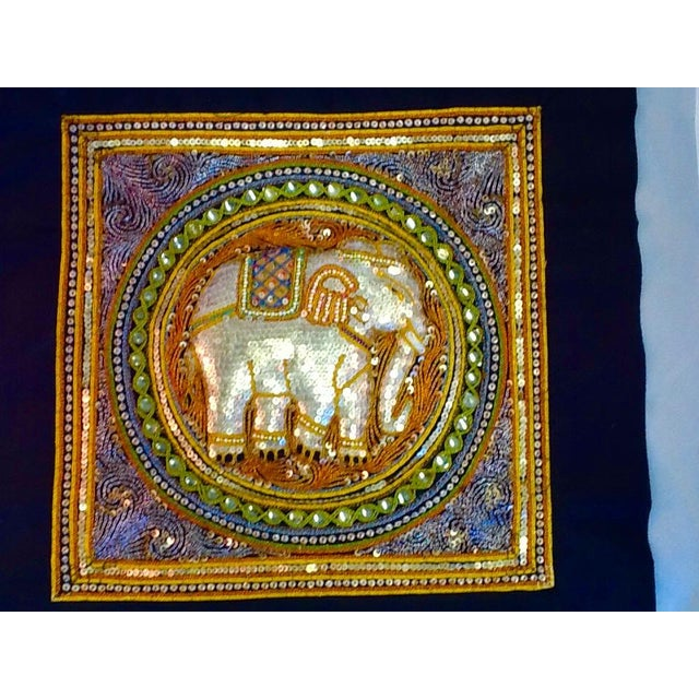 Vintage Elephant Tab Top Wall Hanging - Image 4 of 7