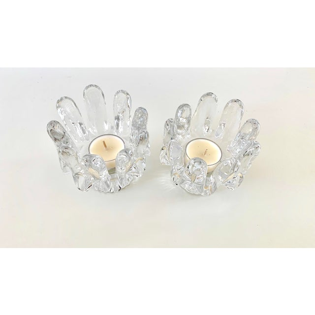 1970s Kosta Boda Candle Holders - a Pair For Sale - Image 9 of 11