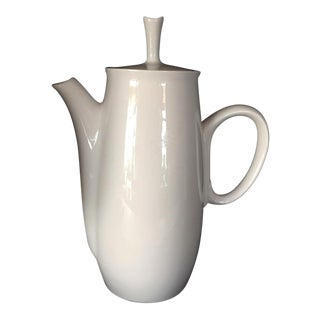 Vintage Franciscan White Stoneware Pitcher For Sale