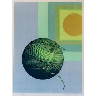 Rita Simon Ariadne Hand Signed Numbered Screenprint For Sale