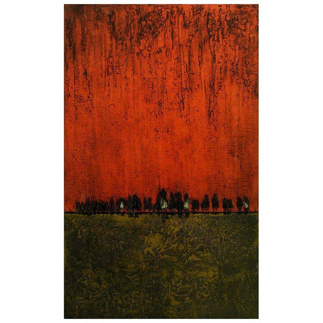 Etching Colorful Print By Dean Meeker For Sale - Image 7 of 7
