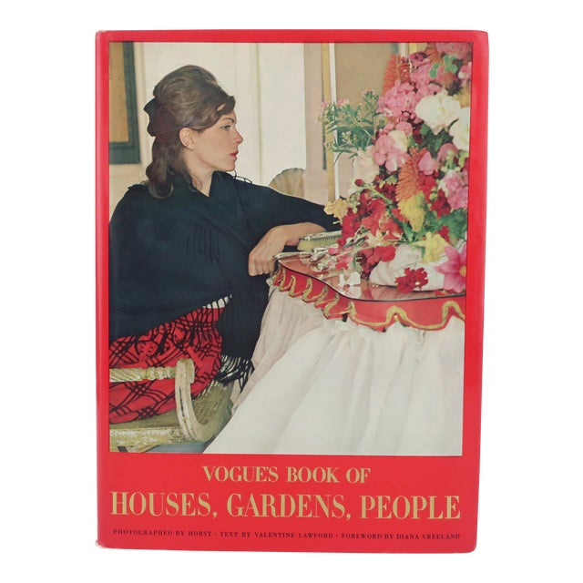 Vogue's Book of Houses, Gardens, People With Photography by Horst For Sale