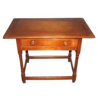 Vintage Maple Desk Table For Sale