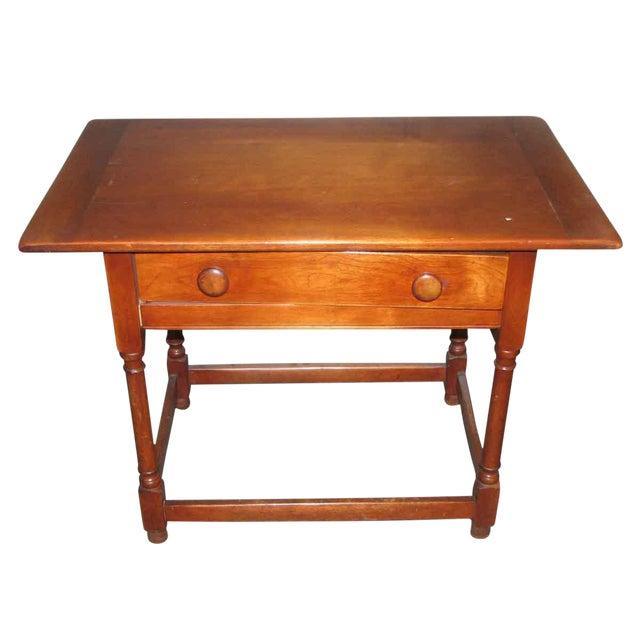 Vintage Maple Desk Table For Sale