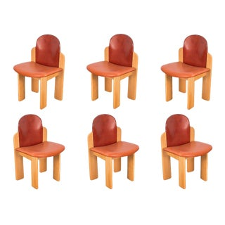 Silvio Coppola Dining Chairs for Fratelli Montina - Set of 6
