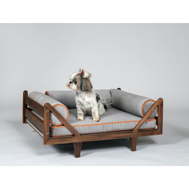 The Charles Dog Bed is available in a variety of woods, stains, finishes as well as metal options. The Charles Dog Bed can...