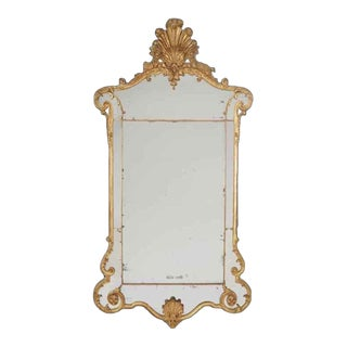 A Fine George I Giltwood Mirror For Sale
