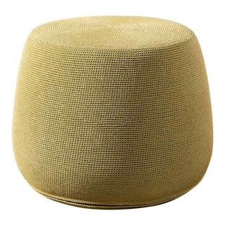 Janus Et Cie Small Bon Vivant Hemp Pouf For Sale