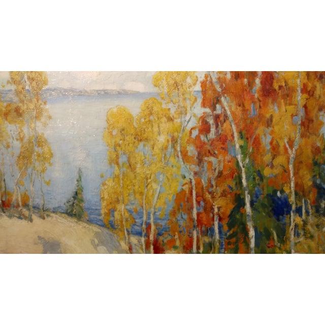 Impressionism Isabel Hunter - Beautiful Carmel Landscape-California Impressionist-Oil painting For Sale - Image 3 of 10