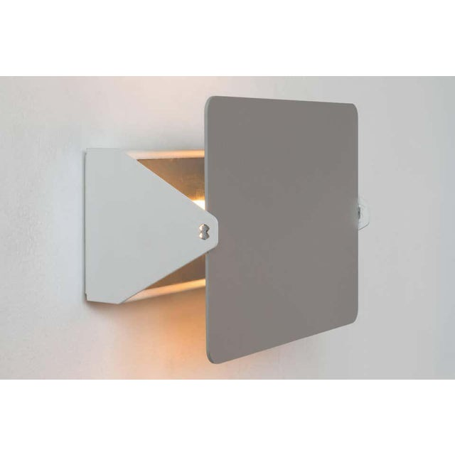Contemporary Charlotte Perriand Cp1 Brushed Aluminum Wall Lights - a Pair For Sale - Image 3 of 11
