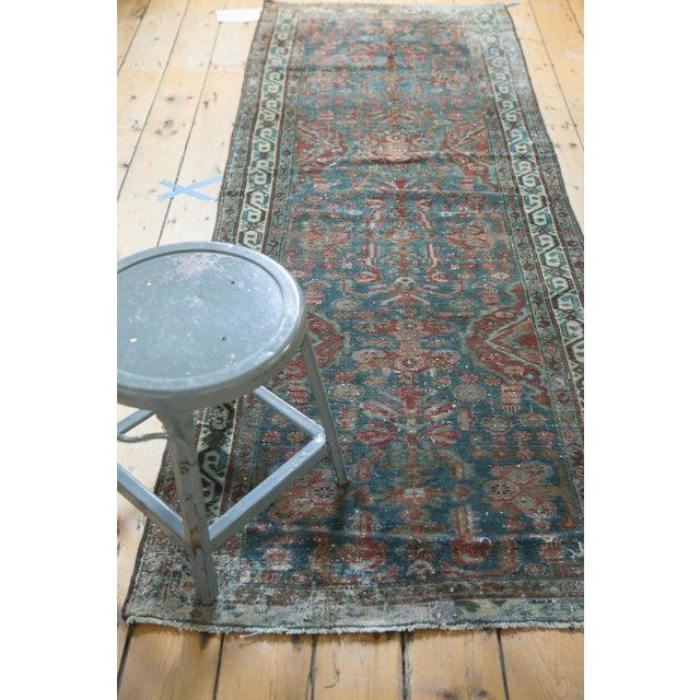 "Vintage Northwest Persian Rug Runner - 3' X 8'6"" For Sale - Image 10 of 11"