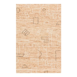 "Justina Blakeney X Loloi Leela Rug, Terracotta / Natural - 2'-6"" x 7'-6"" For Sale"