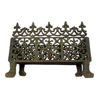 Victorian Cast Iron Fireplace Grate