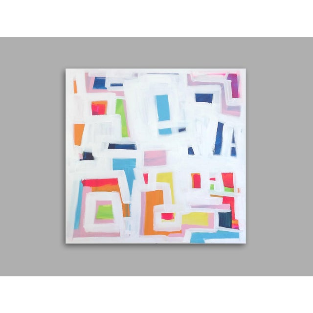 'P-TOWN FUNK' Original Abstract Painting - Image 5 of 8
