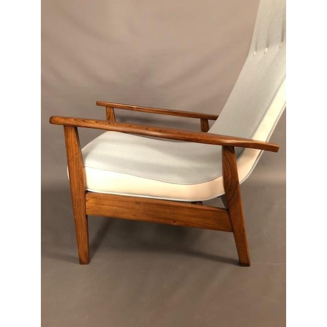 Mid-Century Highback Lounge Chair For Sale - Image 11 of 12