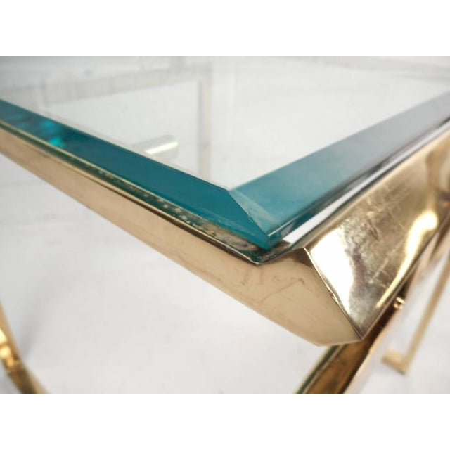 Mid-Century Modern Stacking Tables in the Style of Guy Lefevre - Image 8 of 9