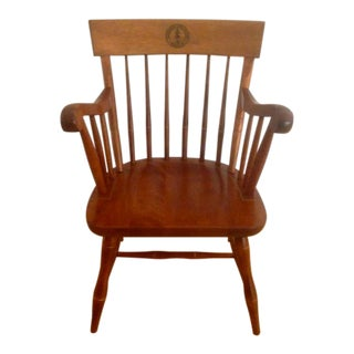 Stanford University Arm Chair by Nichols & Stone For Sale