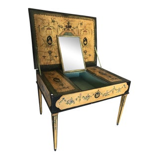 1810 Hand Painted Italian Vanity For Sale