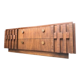 Lane Furniture Brutalist Credenza