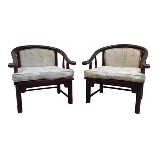1960s Vintage Rosewood Accent Chairs - A Pair For Sale
