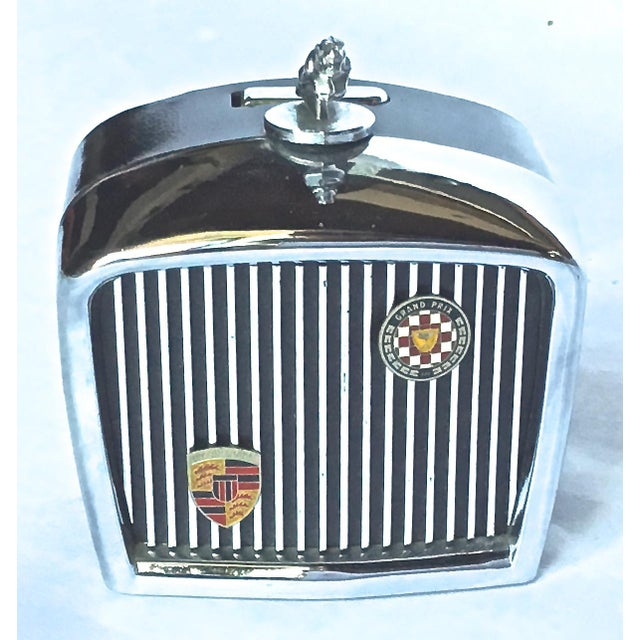 Vintage Jaguar Grill Novelty Lighter For Sale - Image 5 of 7