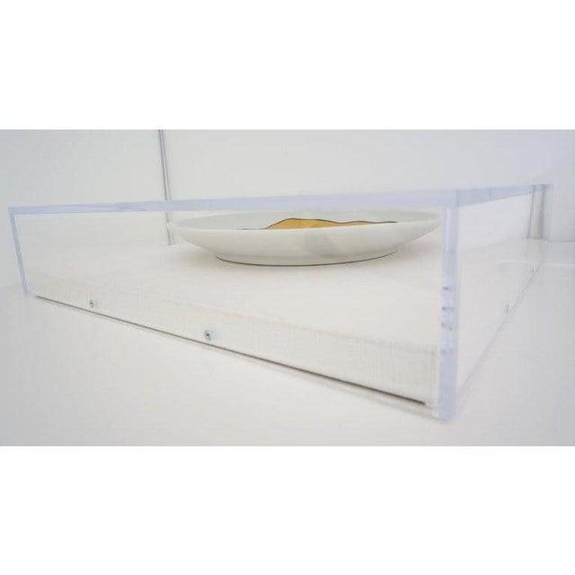 Vintage Framed Fernand Leger Porcelain Plates - a Set of 4 Different in Lucite Shadowbox Frames - a Set of 4 Different...
