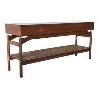 1960s Greta Grossman Mid Century Modern Console Table For Sale