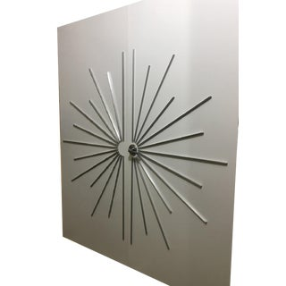 Modernist Ray Double Entry Door Built to Customer Specifications For Sale