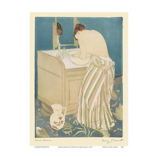 Early 20th Century Antique Mary Cassatt 'The Bath' Signed Print