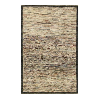 "Contemporary Hand Woven Rug - 3'8"" X 5'9"" For Sale"