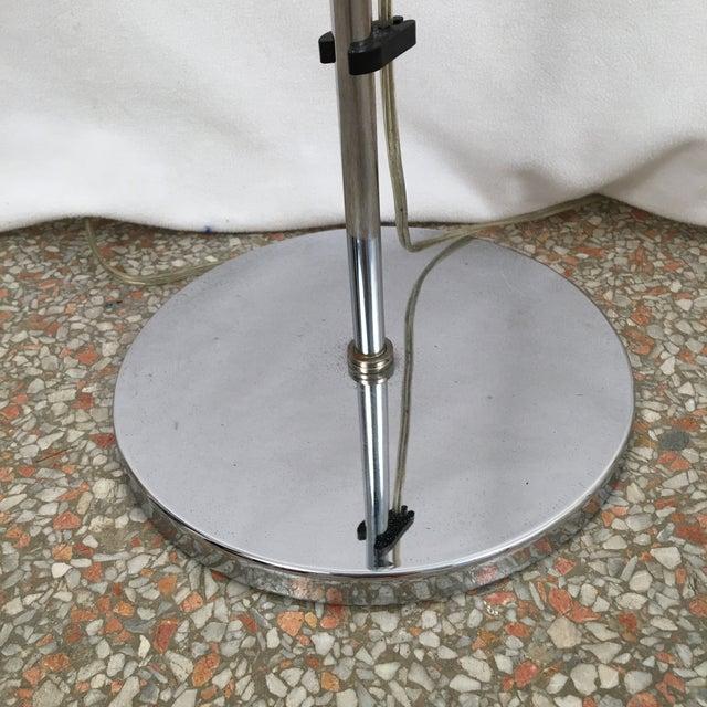 Vintage Koch & Lowy OMI Chrome Floor Lamp For Sale In Atlanta - Image 6 of 7