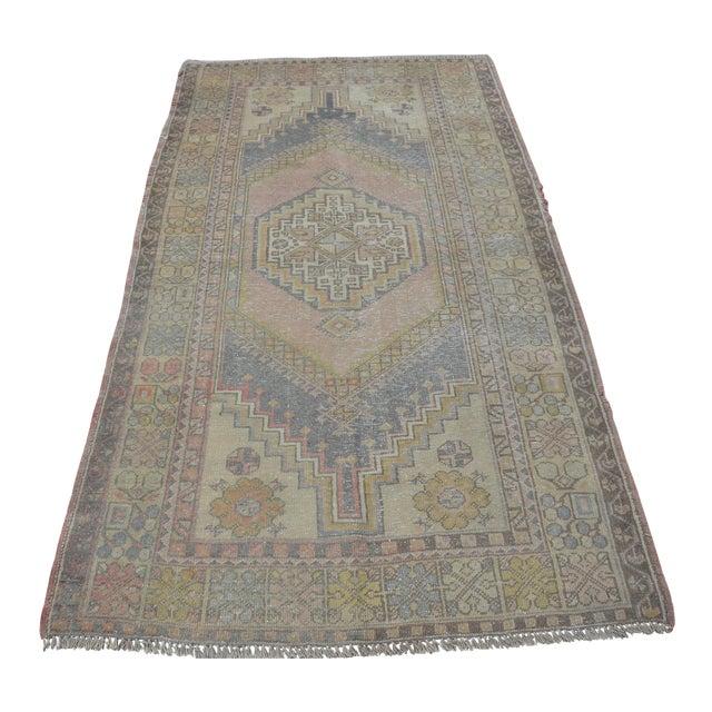 Turkish Anatolian Floor Carpet - 4′ × 7′ For Sale