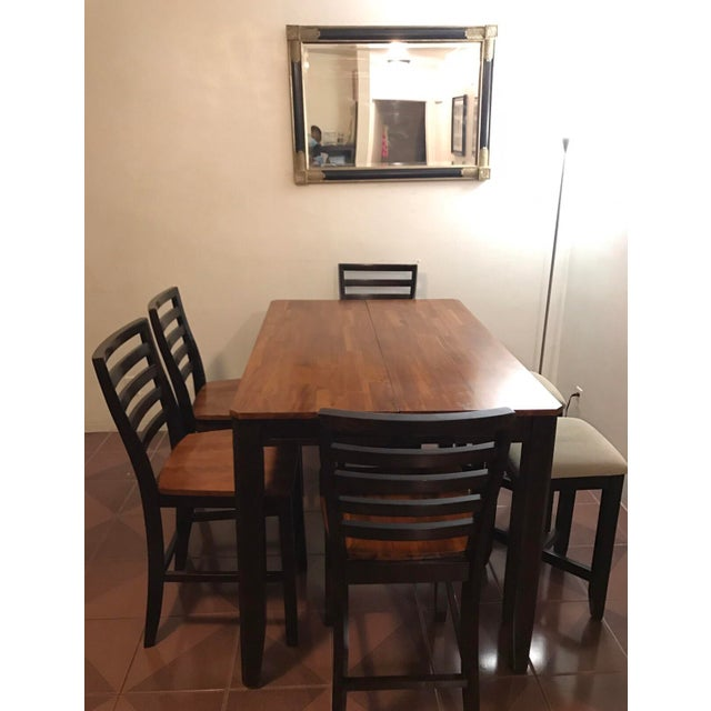 Bar High Dining Table Set For Sale - Image 9 of 9