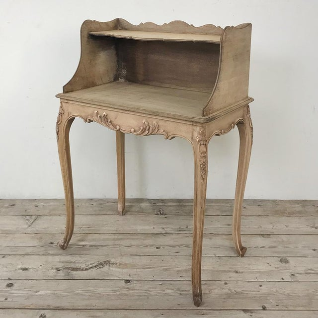 Pair Country French Provincial Nightstands For Sale - Image 10 of 13