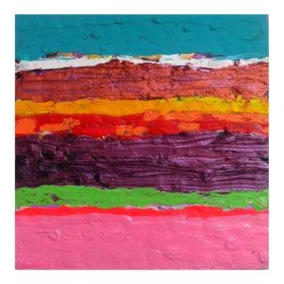Stripe 2 - Acrylic Painting