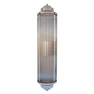 Art Deco Style Grand Theater Glass Rod Wall Sconces For Sale