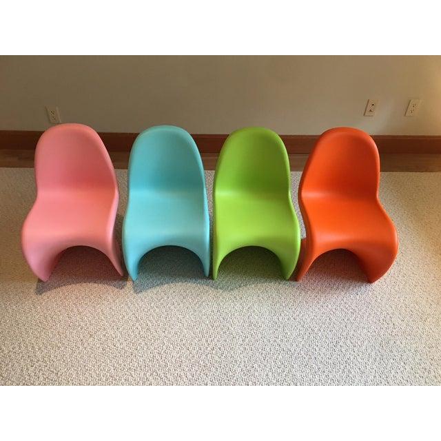 Vitra Panton Junior Chairs - Set of 4 - Image 7 of 8