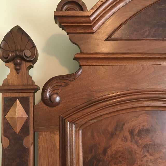 Victorian Eastlake Full Size Bed For Sale - Image 3 of 13
