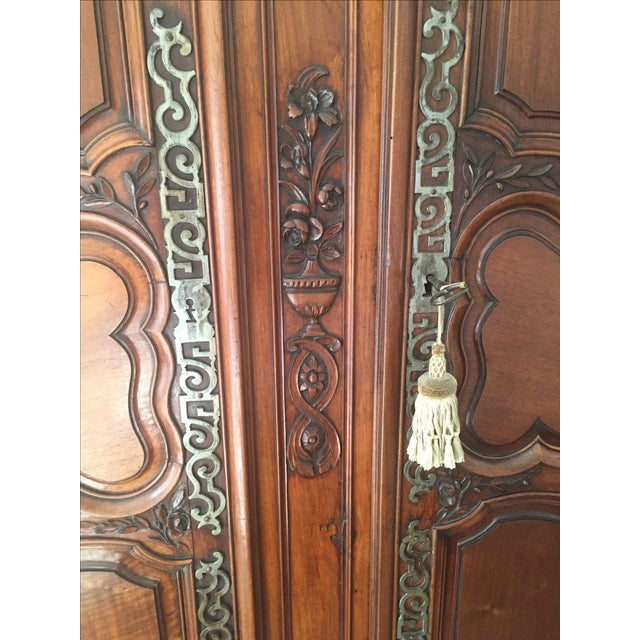 18th Century Louis XV French Armoire For Sale - Image 7 of 10