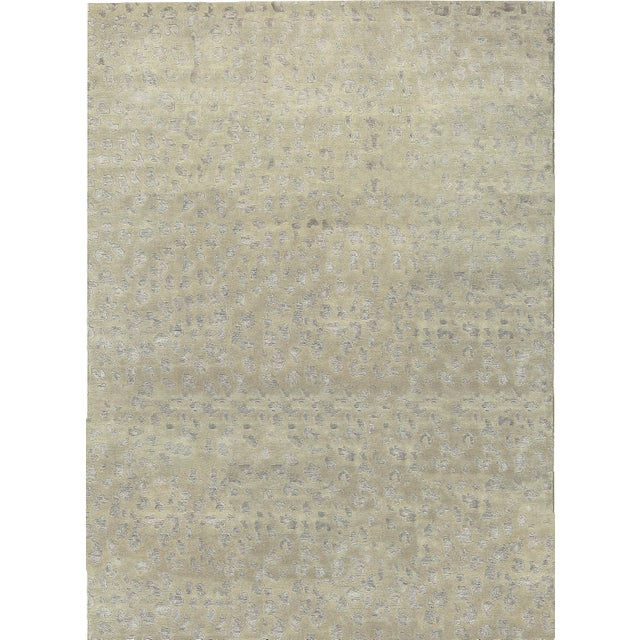 Contemporary Hand Woven Rug - 8'5 X 11'6 For Sale - Image 4 of 4