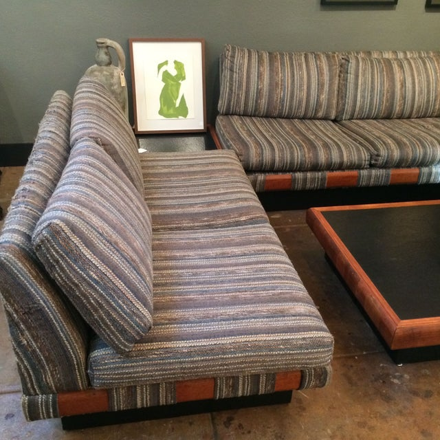 1960s Adrian Pearsall Platform Sofa and Table Set For Sale - Image 7 of 10