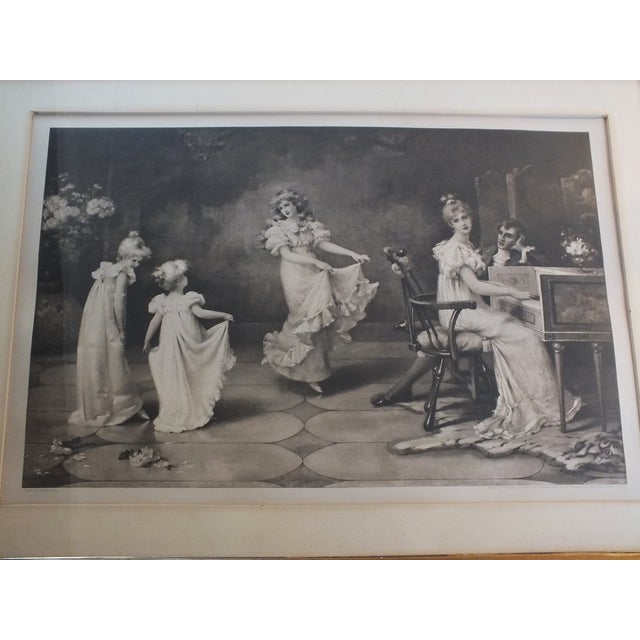 "Traditional ""When the Heart Is Young"" Original Antique Print For Sale - Image 3 of 11"
