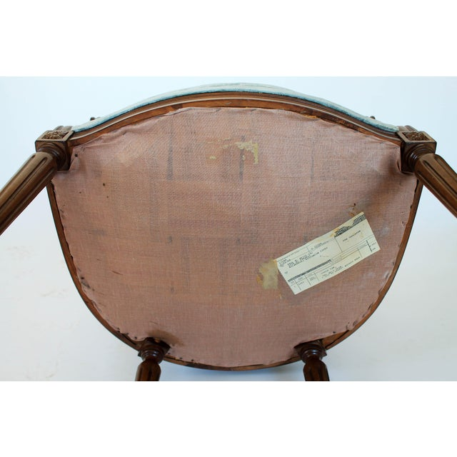 Oval-Back Fauteuil For Sale - Image 11 of 12