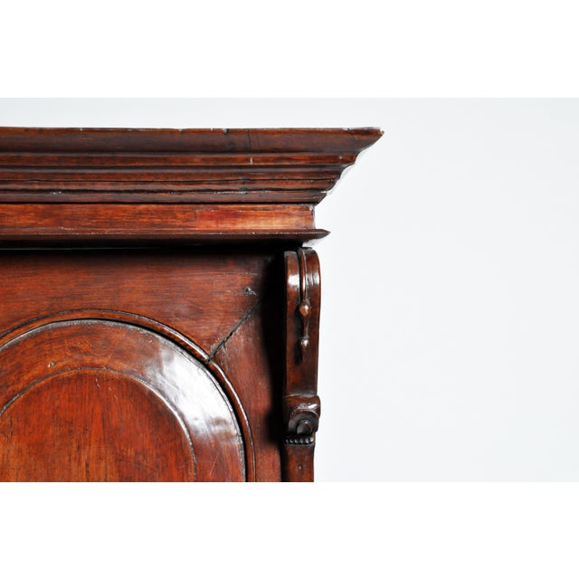 Teak British Colonial Victorian Armoire For Sale - Image 7 of 11